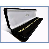 Pulsera Oro Amarillo Solido 14k Mod. Cartier De 4mm 5grs