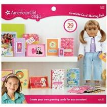 American Girl Artesanía Tarjeta De Decisiones Creativa Pad