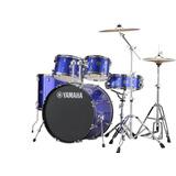 Bateria Acustica Yamaha Rydeen Azul Con Platillos Paiste