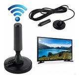 Antena Interior Hdtv Tv Digital Hd Alta Definición Hd3003 Receptlor 360 Cable 4.3m