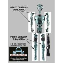 Lote De 4 Piezas Droide Hk-50 Build A Droid (bad) Star Wars
