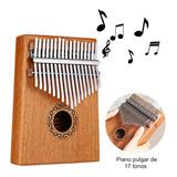 Piano Kalimba Madera C/17tonos Instrumento Musical