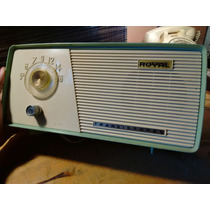 Radio De Transistores Am. Marca Royal Antiguo De Los 50s