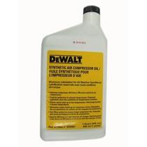 Dewalt D55001 Sintético Aceite Del Compresor 1 Cuarto De Gal