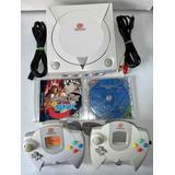 Sega Dreamcast 2 Controles Capcom Vs Snk Soulcalibur Memory