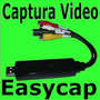 Easycap Tarjeta Capturadora Usb Rca S-video Audio Video Omm