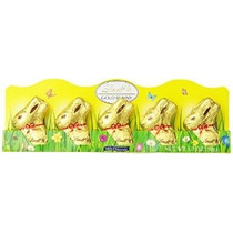 Mini Lindt Gold Bunny - Chocolate Con Leche Peso Neto 1,7 On