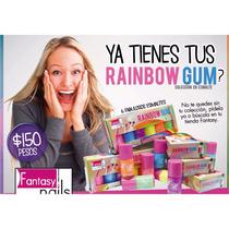 Colección De Esmaltes Fantásy Nails Rainbow Gum
