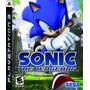 Sonic The Hedgehog (nuevo Y Sellado) - Play Station 3