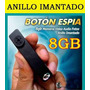 Mini Camara Espia Dvr Oculta Boton 4gb Fotografia Video Omm