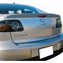 Aleron Tipo Lip En Cajuela Mazda 3 Sedan 2004 - 2009 Nuevo!!