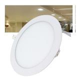 Plafon Empotrado Led 9w Spot Ultradelgado Luz Blanca