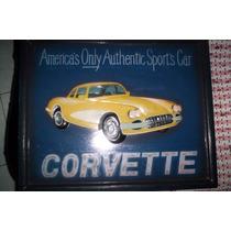 Cuadro De Madera Corvette Nuevo 3d