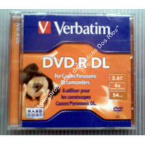 Mini Dvd- Doble Capa (dl) Verbatim Solo $70.00 Vbf