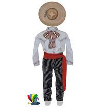 Disfraz Caporal Revolucion Mexicana P/niño C/moño
