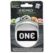 12 (doce) Condones One Zero Preservativos