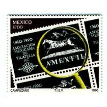 Sc 1642 Año 1990 10th Aniv. Amexfil