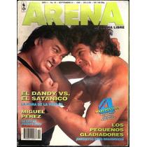 Arena De Lucha Libre Revista 1992 Satanico Dandy En Portada