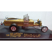 The Munsters Drag - U - La Johnny Lightning Magmas Esc 1/43