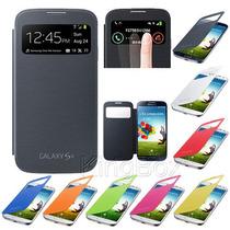 Flip Cover Samsung Galaxy S4 I9500 I337 Con S View + Regalos