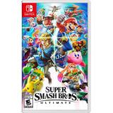 Super Smash Bros Ultimate Nintendo Switch (en D3 Gamers)