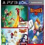 Rayman Legends + Origins + Rayman 3 Hd Ps3 Digital 3en1