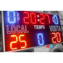 Marcador Deportivo Básquetbol Tablero Futbol Score Timer