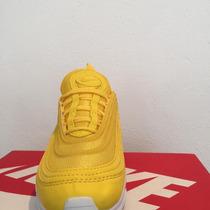 Tenis Nike Air Max 97 Amarillo Casuales Hombre mujer en