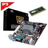 Kit Actualización Tarjeta Madre + Proc.intel  + Memoria 2gb
