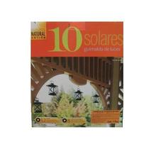 Serie De 10 Farolitos Solares, Lámpara Solar Decorativa