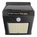 Lampara Solar Led 30 Leds Con Sensor De Mov. Y Panel Solar