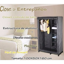 Closet Portatil Organiza Ropa Zapatos Zapatera Guardarropa
