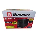 No Break / Regulador Koblenz 520 Va  6 Contactos 34 Minutos