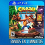 Crash Bandicoot Ps4 Trilogy Con Tu Usuario Español Entregoya
