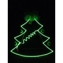 El Wire Figura Navidad Luz Neon Flexible Lo Mas Nuevo 2015