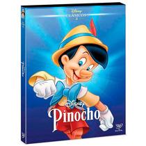 Pinocho Pinoccio Clasicos De Disney , Pelicula En Dvd