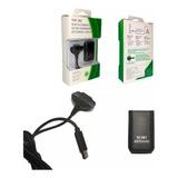 Kit Carga Y Juega Para Control Xbox 360