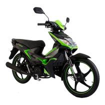 Moto Italika Xt 110 Rt Negro / Verde