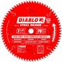 Disco Diablo P/ Sierra 7-1/4 Pulgadas De 70 Dientes Aluminio