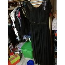 Vestido Largo Negro Nina Ferré En Venta En Bosque De Los