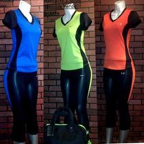 Conjuntos Pants, Leggins, Lycras; Nike, Under, Puma De Dama