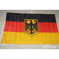 Bandera De Alemania Con Escudo 150x90cm. Banderas Del Mundo