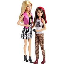 Barbie Hermanas Barbie Y Skipper Muñeca 2-pack