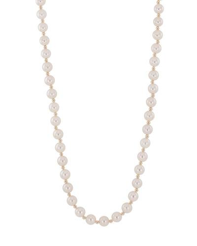 60d7789a4701 Collar De Oro Amarillo Con Perlas-bn001