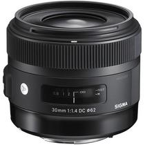 Sigma Lente 30mm F/1.4 Dc Hsm Art Para Nikon
