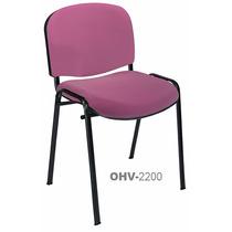 Silla Ohv-2200 Ellittico Collection Diseñador Tela/vinil