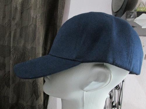 Oferta Gorra Tipo Beis-bolera Azul Envió Gratis Y Msi df216387ad6