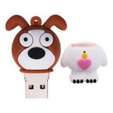 Flash Drive Pendrive Forma Perro Animados Dibujos Usb2.0 De
