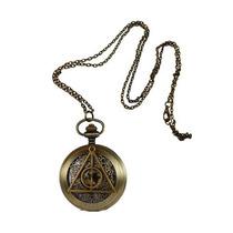 Harry Potter Reloj Bolsillo Reliquias Muerte Deathly Hallows