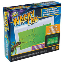 Edu Ciencia Wacky Lab Light Up Gel Ant Farm